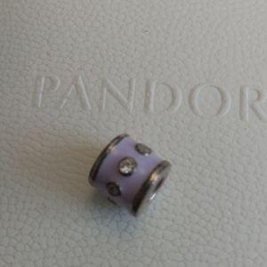 Pandora enamel stone charm